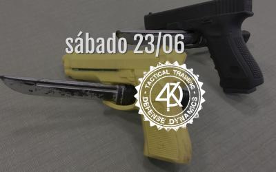 Seminario A.TAC defensa contra cuchillo Nivel 2