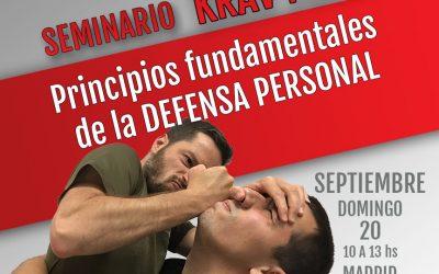 Principios fundamentales de la defensa personal 20-09-20