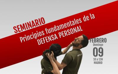Principios fundamentales de la defensa personal