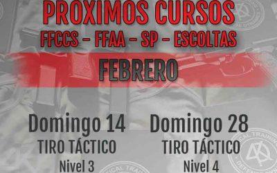 Tiro Táctico Nivel 4 – Domingo 28-02-21