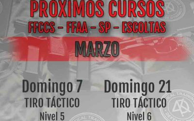 Tiro Táctico Nivel 6 – Domingo 21-03-21